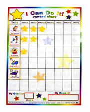 "Kenson Kids ""I Can Do It"" Reward Chart - Includes 20 Chores and Behaviors - Perf"