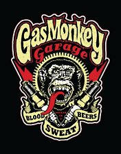 Gas Monkey Garage Vinyl Banner Flag Sign Custom Car Tv Show Auto Racing Shop