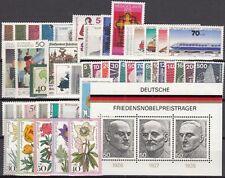 GERMANIA FEDERALE  ANNO 1975 COMPLETO 46 VALORI +1 FG.  NUOVI ** MNH TOP QUALITA