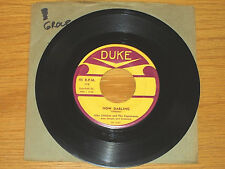"DOO WOP GROUP 45 RPM - THE CAPISTRANOS - DUKE 179 - ""NOW DARLING"" + ""PO' MARY"""