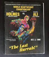 Larry Holmes ve Muhammad Ali Program - Las Vegas - Oct  2, 1980 The Last Hurrah!