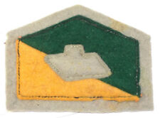 WW2 Original Colour Patch 2/9th Australian Armoured Regiment