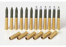 35191 Tamiya M4 Sherman Brass 75mm Projectile 1/35th Plastic Kit 1/35 Military