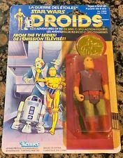 Vintage Kenner Star Wars Droids Jord Dusat Canada Cardback Card Rare 1985