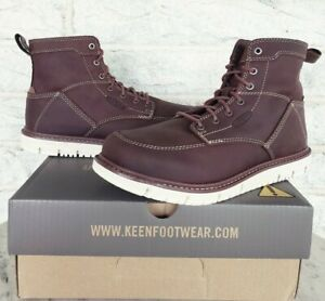 Keen Utility Mens San Jose Soft Toe Work Boots Size 11 Gingerbread 1020146 $155