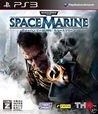 Used PS3 Warhammer 40,000: Space Marine PLAYSTATION 3 SONY JAPAN JAPANESE IMPORT