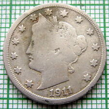 UNITED STATES 1911 5 CENTS - LIBERTY NICKEL