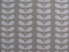 Orla Kiely Linear Tiny Stem Cloud Grey 1M / 1.5M 150cm wide cotton Fabric new