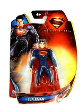 "Superman Action Figure Man of Steel 4"" RARE"