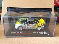 """DIE CAST """" PEUGEOT 307 WRC RALLYE DU LIMOUSINE - 2008 """" SCALA 1/43"""
