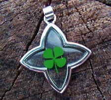 Four Leaf Clover Shamrock Good Luck Spell St. Patrick's Day Lucky Charm Money