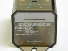 Schrack RMD05730 4pin SPDT 230VAC Non Latching Relay 30 Amps 400VAC