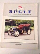 Buick Bugle Magazine 1905 Model C January 1991 032217NONRH