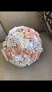Bridal Bouquet, Artificial Brides Bouquet, Fake Wedding Bouquet