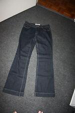 Gorgeous Dark Blue Ladies Stretch Jeans sz 14 NEW