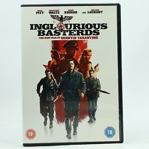 Inglourious Bastards DVD 2-Disc Brad Pitt Christoph Waltz R2 Good Condition