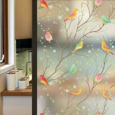 Privacy Window Film Non-Adhesive Frosted Decorative Glass Film Static Cling