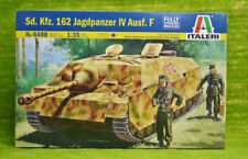 SD. KFZ. 162 jadgpanzer IV Ausf. F 1/35 scale italeri au 6488