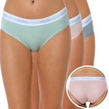3 Pack Womens Cotton Bikini Briefs Comfort Breathable Modern Soft