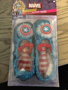 Avengers Captain America Toddler American Dream Slipper Shoes Marvel child 7-11