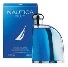 New! Authentic NAUTICA BLUE EDT Eau De Toilette Cologne Spray 100ml