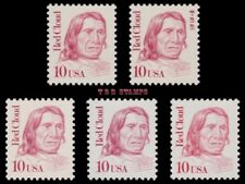 Red Cloud 2175 2175a 2175c 2175d 2175e Great Americans 10c Set of 5 MNH -Buy Now