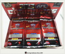 2013 Select AFL Champions Trading Cards Sealed Loose Packs Unit of 4--packs