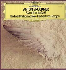 BRUCKNER-Symphonie nº 6, DGG Lp, Karajan, Berliner Philharmonique