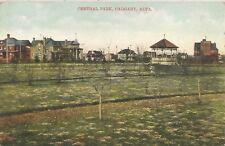 Calgary Alberta Canada Central Park Postcard 1909