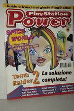 RIVISTA PLAYSTATION POWER ANNO 3 NUMERO 1 GENNAIO 1998 USATA ED ITA VBC 51411
