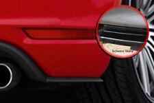 Seitenteile Golf 6 GTI GTD ABS Golf 7GTI Look flache ausführung Schwarz Glanz