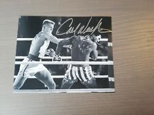 "CARL WEATHERS Autogramm auf 20x25 cm ""ROCKY"" Foto - In Person"