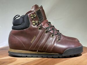 Adidas Originals Jake Blauvelt Lace Up Ankle Boots Shoes Brown Mens US Size 8