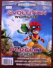 EVOLUTION WORLDS Nintendo Lösungsbuch Videospiel Strategy PERFECT GUIDE Versus