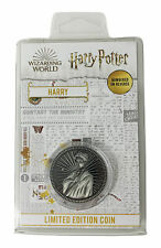 More details for harry potter limited edition coin - harry