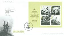 GB FDC Britain Alone MS3086. 2010 Bureau Postmark