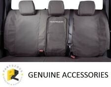 Genuine Ford Canvas Rear Bench Seat Cover for Ford Ranger PXII Pxiii Dual CAB