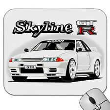 NISSAN  R32  GTR  SKYLINE  TURBO  GT-R      MOUSE PAD  ( 6 CAR COLOURS)