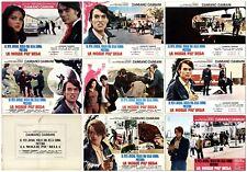 La Épouse Plus 'Belle Set Fotobusta 8 Pz. Neuf Premier Film 1969 Lobby Card