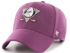 Anaheim Ducks Cap NHL Eishockey 47Brand Kappe Snapback Verschluß