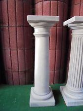 Säule 83,5 cm Steinguss, Sockel, Gartenfiguren, Skulptur, Betonsäule, Gartendeko