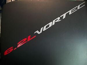 6.2L VORTEC (2) Hood sticker decals emblem Chevy Silverado GMC Sierra 2500 HD