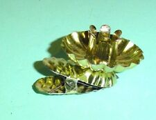 CHRISTMAS TREE CANDLE CUP METAL CLIP OLD WORLD VICTORIAN HOLIDAY DECORATIONS