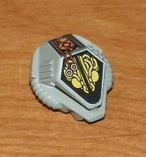 LEGO - Minifig, Headgear Helmet UFO with Mechanical Pattern - Light Gray