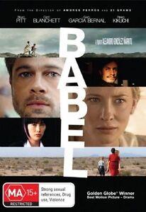 Babel (DVD, 2008) Region 4 - Brad Pitt, Cate Blanchett, Rinko Kikuchi