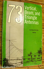 73 Vertical Beam and Triangle Antennas on CD in Easy .pdf Format