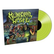 Municipal Waste 'The Art Of Partying' Lime Green Vinyl - NEW (100 Copies Only)