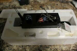 Franklin Mint Harley Davidson EASY RIDER CHOPPER Model AMERICAN FLAG 1:10 Scale