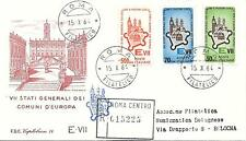 Repubblica Italiana 1964 FDC Capitolium Ass Gen. Comuni d'Europa Racc.