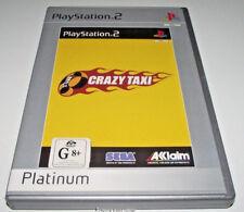 Crazy Taxi PS2 (Platinum) PAL *Complete*